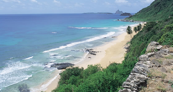 Fernando de Noronha Beaches on the MAP