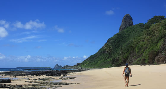 Hiking in Fernando de Noronha