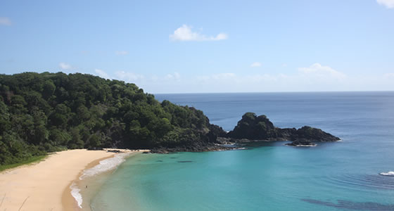 The Beaches in Fernando de Noronha Island.